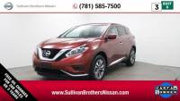 Used 2018 Nissan Murano S SUV For Sale in Kingston, MA