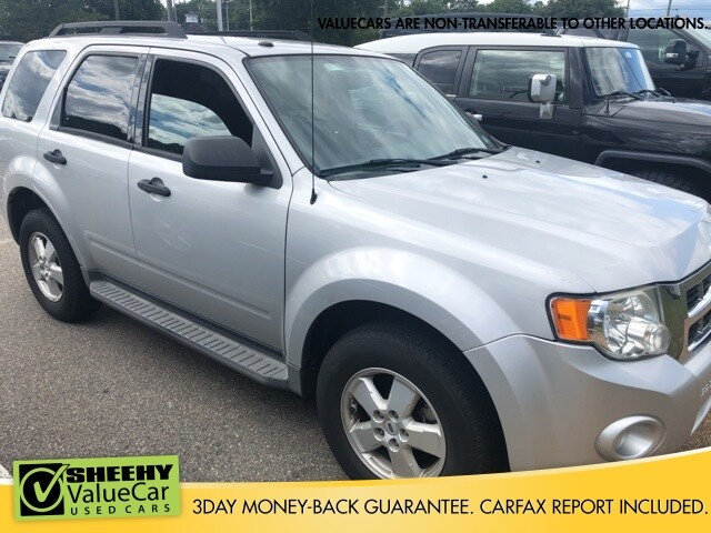 Photo Used 2009 Ford Escape XLT SUV I-4 cyl for sale in Richmond, VA