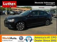 2016 Volkswagen Jetta Hybrid SEL Premium Automatic Sedan
