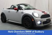 Pre-Owned 2014 MINI Roadster John Cooper Works ALL4 Roadster Convertible in Sudbury, MA