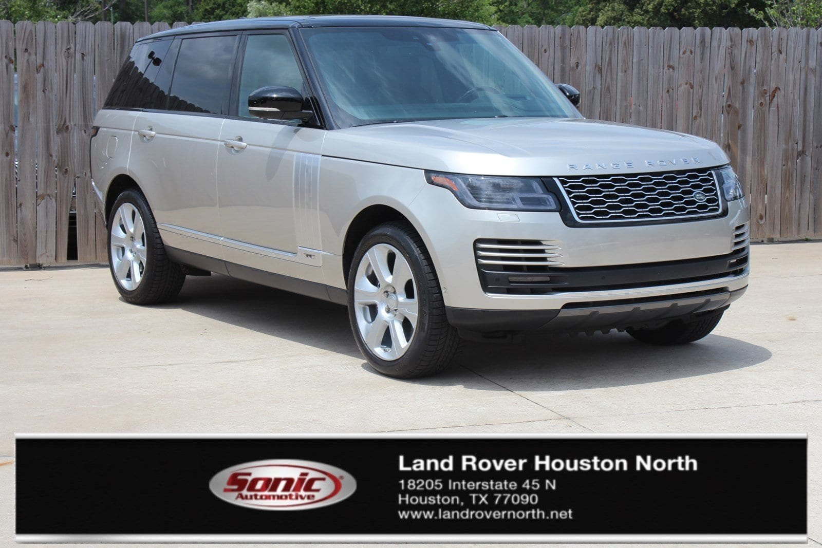 Photo Used 2019 Land Rover Range Rover 5.0L V8 Supercharged in Houston