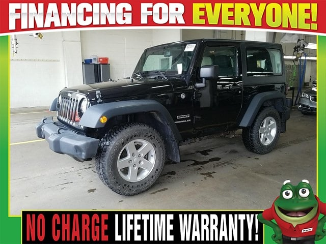 Photo Used 2015 Jeep Wrangler Sport 4WD - 6 Speed Manual - Hard Top For Sale Near St. Louis