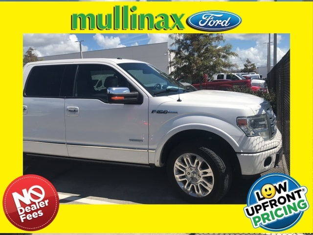 Photo Used 2014 Ford F-150 Platinum W 3.5L Ecoboost, Moonroof, 20 Wheels Truck SuperCrew Cab V-8 cyl in Kissimmee, FL