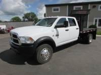 Used 2012 Dodge RAM 5500 4x4 Crew-Cab Flatbed