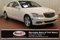 Pre-Owned 2013 Mercedes-Benz S-Class S 550 in Fort Myers