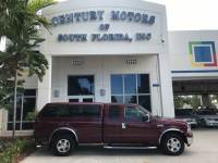 2006 Ford Super Duty F-250 Lariat 1 Owner Leather Tow Package 8ft Bed Camper Top