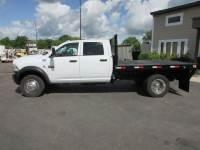 Used 2012 Dodge RAM 5500 6.7 4x4 Crew-Cab Flatbed