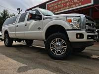 2015 Ford F-350 SD PLATINUM CREW CAB LONG BED 4WD CUSTOM LIFTED