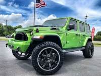 Used 2018 Jeep All-New Wrangler Unlimited CUSTOM LIFTED SAHARA LEATHER HARDTOP