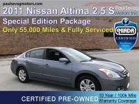 Used 2011 Nissan Altima For Sale at Paul Sevag Motors, Inc. | VIN: 1N4AL2AP6BC138846