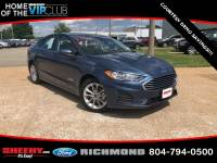 Used 2019 Ford Fusion Hybrid SE Sedan I-4 cyl for sale in Richmond, VA