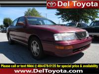 Used 1996 Toyota Avalon XL w/Bench Seat For Sale in Thorndale, PA | Near West Chester, Malvern, Coatesville, & Downingtown, PA | VIN: 4T1BF12B5TU129386
