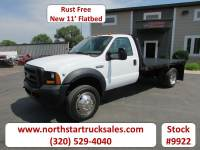 Used 2006 Ford F-450 Reg-Cab Flatbed Truck