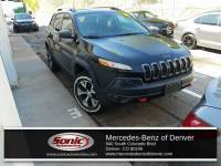Pre-Owned 2018 Jeep Cherokee Trailhawk 4x4 SUV in Denver