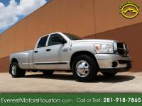 2007 Dodge Ram 3500 SLT QUAD CAB LWB 2WD DRW DIESEL 6SPD MANUAL