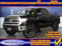 2016 Toyota Tundra 4WD Truck Double Cab 5.7 V8 6 Spd AT SR5 W/Lift/Wheels/Tires