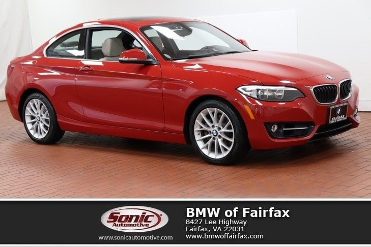Photo Certified Used 2016 BMW 228i xDrive Sport Package Coupe in Fairfax, VA