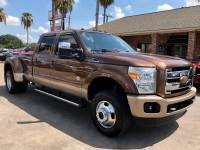2012 Ford Super Duty F-350 DRW King Ranch 4WD Crew Cab 8' Box
