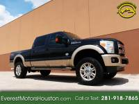 2013 Ford F-250 SD KING RANCH CREW CAB SHORT BED 4WD DIESEL LOADED