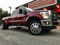 2015 Ford F-350 SD LARIAT CREW CAB LONG BED 4WD CUSTOM LEVELED