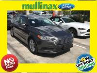 Used 2017 Ford Fusion SE W/ Tech Package, Reverse Sensing System Sedan I-4 cyl in Kissimmee, FL