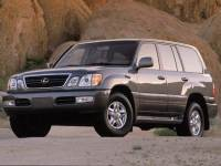 Pre-Owned 2002 LEXUS LX 470 Base SUV in Greenville SC
