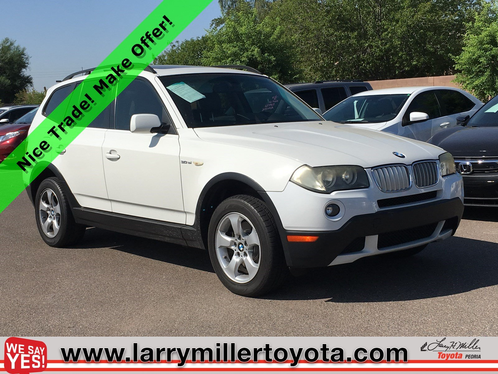 Photo Used 2007 BMW X3 For Sale  Peoria AZ  Call 602-910-4763 on Stock 91366A