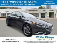 2018 Ford Fusion Titanium AWD Car in White Plains, NY