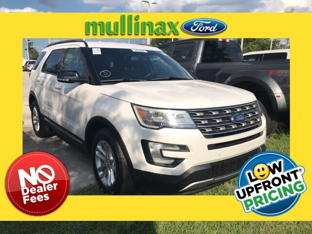 Photo Used 2016 Ford Explorer XLT W NAV, Blis, 2ND ROW Bucket Seats SUV V-6 cyl in Kissimmee, FL