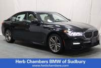 2016 BMW 750i xDrive M-Sport AWD Sedan for sale in Sudbury, MA
