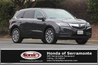 Used 2016 Acura MDX 3.5L w/Technology Package For Sale in Colma CA | Stock: SGB007612 | San Francisco Bay Area