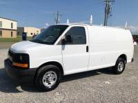 2017 Chevrolet Express 2500 Cargo Van w/ Ladder Rack & Bin Pkg