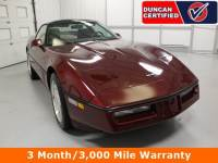Used 1989 Chevrolet Corvette For Sale at Duncan's Hokie Honda | VIN: 1G1YY2180K5110721