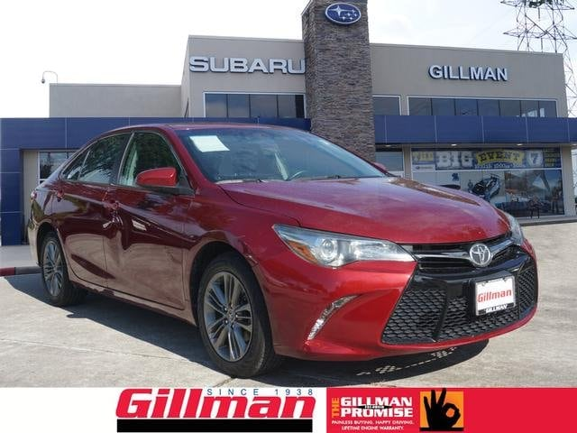Photo Used 2015 Toyota Camry in Houston, TX