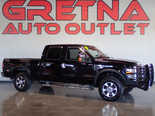 Photo 2009 Ford Super Duty F-250 SRW LARIAT CREW CAB AUTO 6.8 V10 4X4 LOADED UP