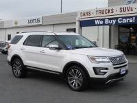 Pre-Owned 2017 Ford Explorer Platinum SUV