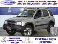 2003 Chevrolet Tracker 4dr Hardtop 4WD ZR2 RARE LOW MILES!!!
