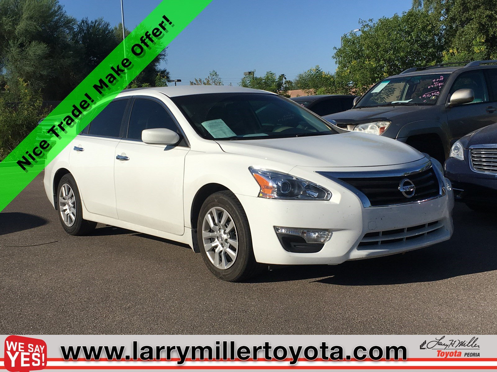 Photo Used 2015 Nissan Altima For Sale  Peoria AZ  Call 602-910-4763 on Stock 92008A