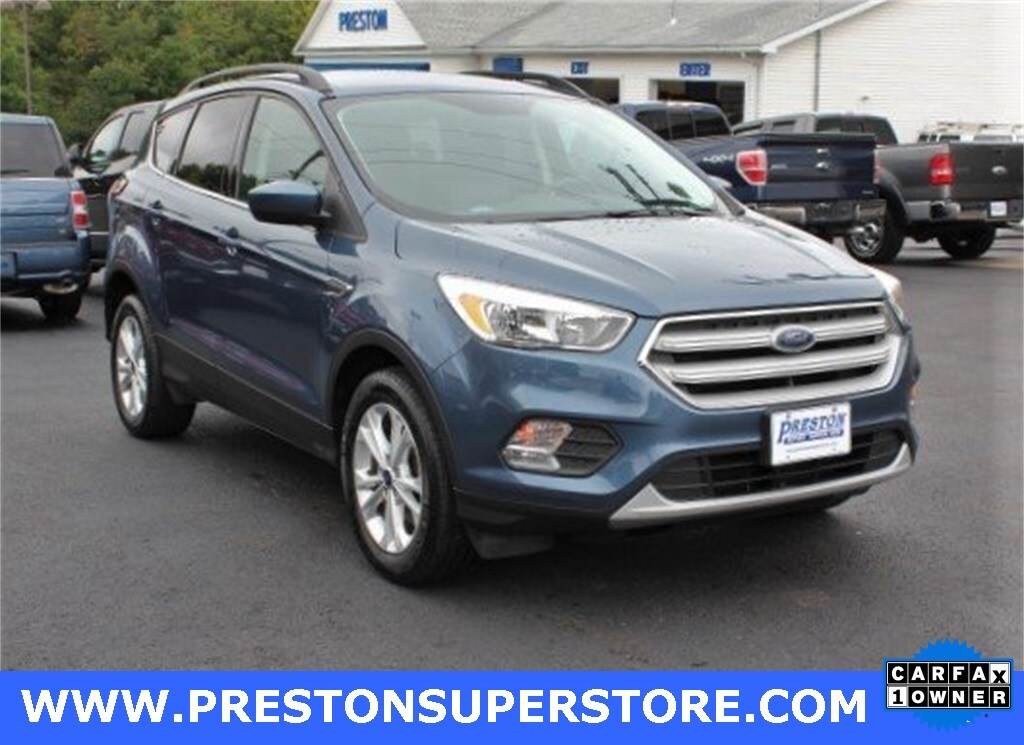 Photo Certified Used 2018 Ford Escape SE SUV in Burton, OH