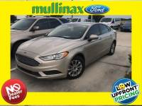 Used 2017 Ford Fusion S Sedan I-4 cyl in Kissimmee, FL