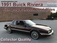 Used 1991 Buick Riviera Coupe For Sale at Paul Sevag Motors, Inc. | VIN: 1G4EZ13L9MU411804