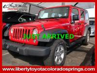 Used 2015 Jeep Wrangler Unlimited Sport 4WD Sport For Sale in Colorado Springs, CO