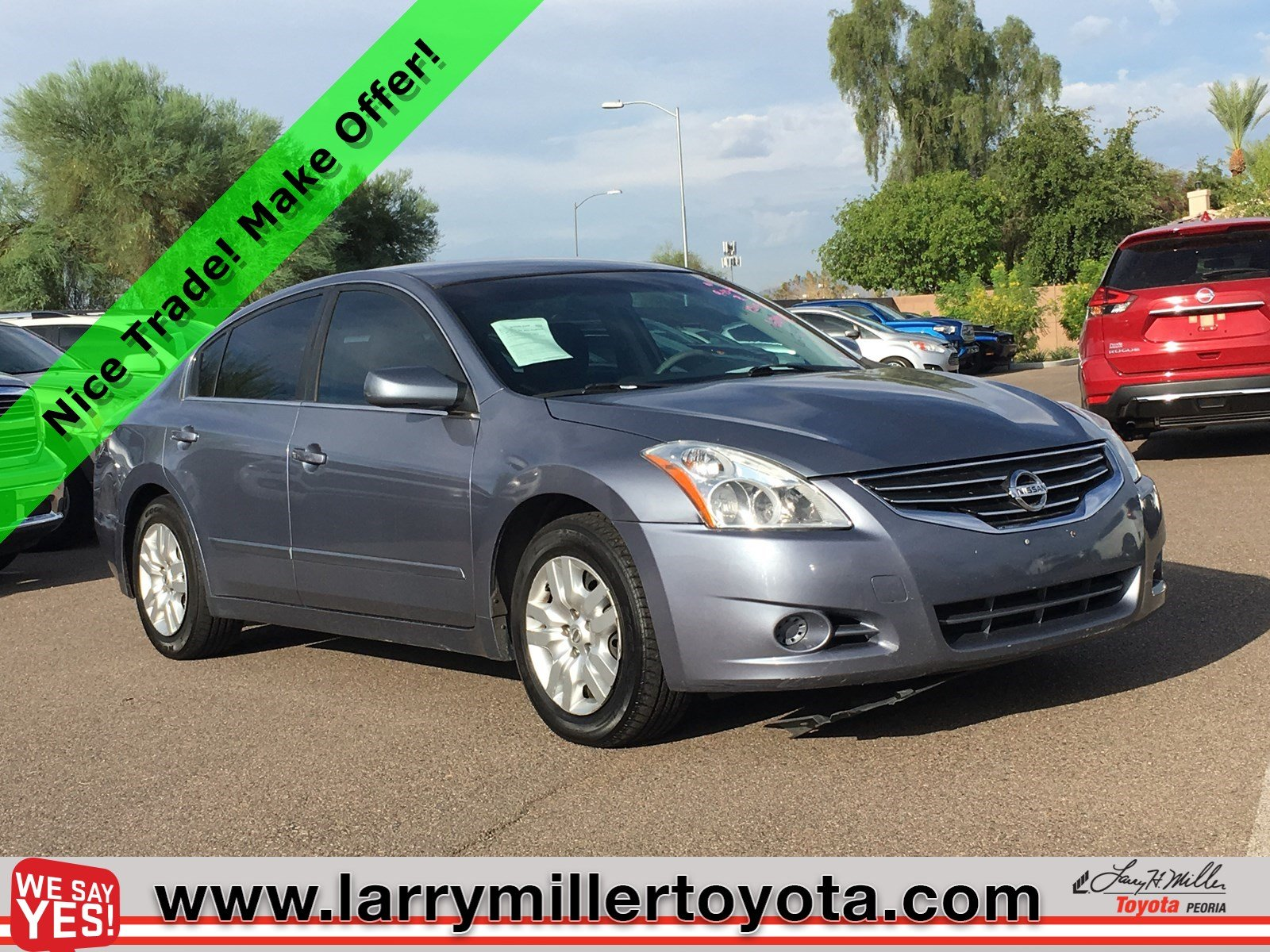 Photo Used 2012 Nissan Altima For Sale  Peoria AZ  Call 602-910-4763 on Stock 20117A