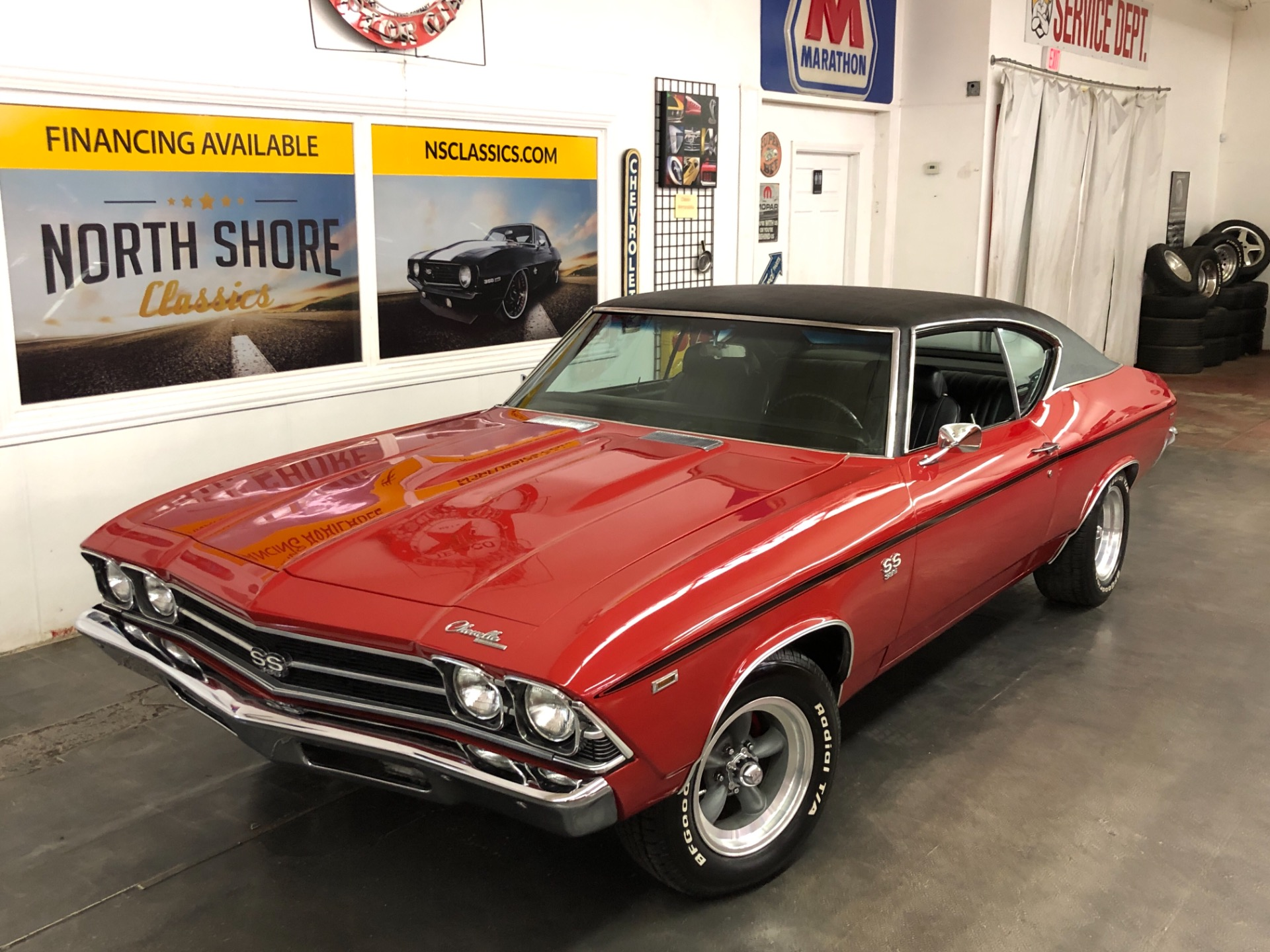 Photo 1969 Chevrolet Chevelle -SS 396 - 4 SPEED - REAL SUPER SPORT