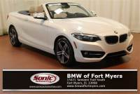 Certified Pre-Owned 2017 BMW 230i Convertible in Fort Myers, FL