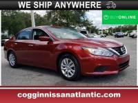 Certified 2018 Nissan Altima 2.5 S Sedan in Jacksonville FL