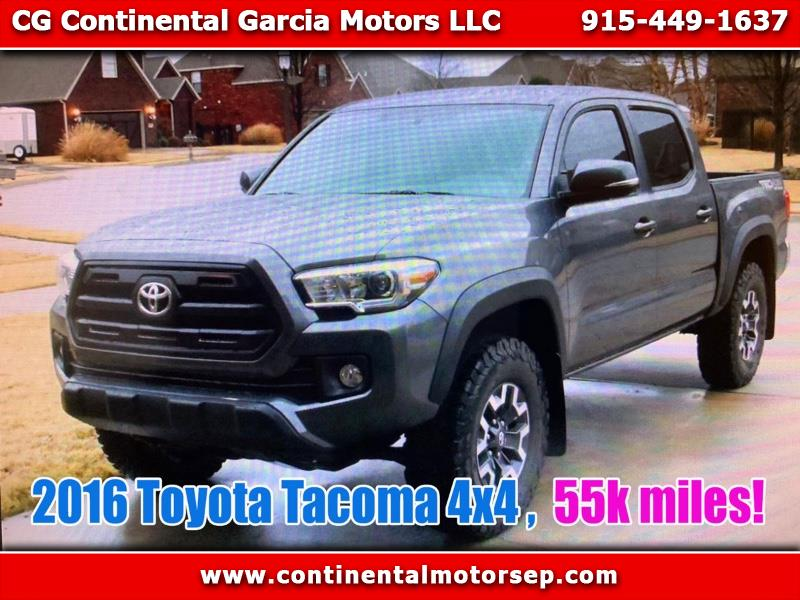 Photo 2016 Toyota Tacoma SR5 Double Cab Super Long Bed V6 6AT 4WD