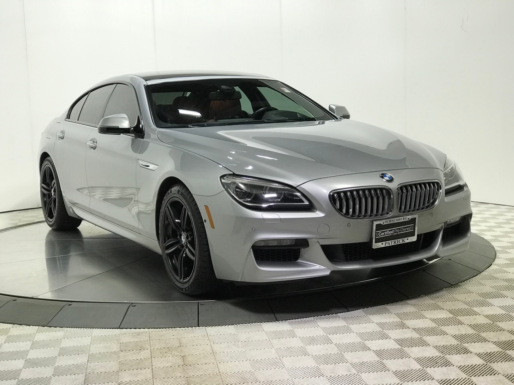 Photo Certified 2016 BMW 6 Series 650i xDrive Gran Coupe Sedan for Sale in Schaumburg, IL