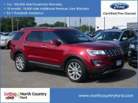 2016 Ford Explorer 4WD Limited SUV 4 Cyl.