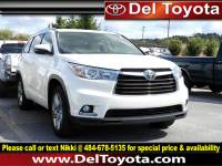 Used 2015 Toyota Highlander Limited For Sale in Thorndale, PA | Near West Chester, Malvern, Coatesville, & Downingtown, PA | VIN: 5TDDKRFH3FS200728